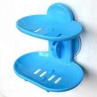 73.27 руб. 37% СКИДКА|Ванная комната двухслойная сильная присоска мыльница с водоотводом держатель мыльница аксессуары для ванной комнаты тарелка для хранения корзины для мыла-in Полки и стеллажи для хранения from Дом и сад on Aliexpress.com | Alibaba Group