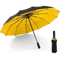 Ветрозащитный двойной автоматический складной зонт женский мужской 12 Bone автомобильный роскошный большой бизнес зонтик для мужчин и женщин...