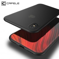 US $1.99 30% OFF|Cafele Matte Soft TPU Case for iPhone X/ Xs/ XR/ Xs MAX Ultra thin Comfortable Soft Case Cover for iPhone X Anti fingerprint-in Fitted Cases from Cellphones & Telecommunications on Aliexpress.com | Alibaba Group