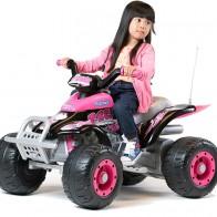 Детский квадроцикл Peg Perego Corral T-Rex Pink OR0073 - Детские электромобили