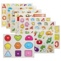 374.08 руб. 40% СКИДКА|30 см Детские Ранние развивающие игрушки для детей ручной захват деревянная головоломка игрушка алфавит и цифра обучающая детская деревянная отрезная игрушка-in Пазлы from Игрушки и хобби on Aliexpress.com | Alibaba Group