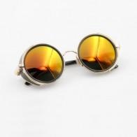 649.84 руб. 5% СКИДКА|Хеллсинг аниме Алукард вампир Охотник индивидуальные очки в стиле косплей оранжевые солнцезащитные очки купить на AliExpress
