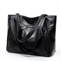US $12.95 63% OFF|Women Tote Bag Genuine Sheepskin Patchwork Casual Hand Bags Big Capacity Woman Shoulder Bag Large Ladies Shopping Bags 2019-in Shoulder Bags from Luggage & Bags on Aliexpress.com | Alibaba Group