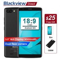 Оригинал Blackview A20 смартфон 5,5 дюйма 18:9 полный экран Android Go сотовые телефоны двойной сзади Камера 5MP 1 GB + 8 GB 3g мобильных телефонов купить на AliExpress