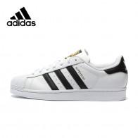 3510.76 руб. 39% СКИДКА|Оригинальный Adidas официальный SUPERSTAR Клевер Для женщин и Для Мужчин