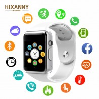 € 11.66 |HIXANNY 2019 nuevo reloj inteligente sincronización notificador soporte SIM tarjeta TF conectividad Apple iphone Android Teléfono Smartwatch GT08-in Relojes inteligentes from Productos electrónicos on Aliexpress.com | Alibaba Group