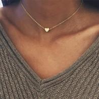 2019 Богемия простая Луна Звезда Сердце колье ожерелье для женщин цепочка ожерелье кулон на колье на шею Подарочные ожерелья украшения