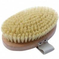 Hydrea London Beech Wood Body Brush With Cactus Fibre Bristles - Осенний уход за собой