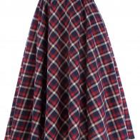 721.92 руб. 37% СКИДКА|Консервативный стиль сетке клетчатые юбка трапеция Винтаж Мода Высокая талия Упругие Женская плиссированная юбка Повседневная Femme Falda Corta-in Юбки from Женская одежда on Aliexpress.com | Alibaba Group