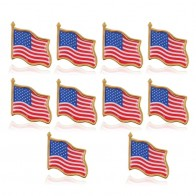 US $1.78 15% OFF|10PCS American Flag Lapel Pin United States USA Hat Tie Tack Badge Pin Wedding Decoration Christmas Gifts Craft Supplies-in Badges from Home & Garden on Aliexpress.com | Alibaba Group