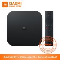 4476.8 руб. |Глобальная версия Xiaomi mi ТВ коробка S 4 к HDR Android tv Box Strea mi ng медиаплеер и Google помощник дистанционного Smart tv Box s купить на AliExpress