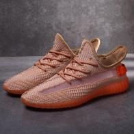 889.85 руб. 31% СКИДКА|Мужские кроссовки 2019 новая сетчатая спортивная обувь для мужчин дышащие, для активного отдыха и спорта мужская обувь zapatillas hombre Boost 350 35-in Беговая обувь from Спорт и развлечения on Aliexpress.com | Alibaba Group