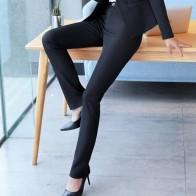 1458.84 руб. 19% СКИДКА|Naviu новые высококачественные тонкие брюки женские формальные модные прямые Панталоны женские офисные брюки-in Штаны и капри from Женская одежда on Aliexpress.com | Alibaba Group