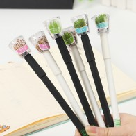 25.79 руб. 9% СКИДКА|Милый сад расти трава гелевая ручка Kawaii корейский Канцелярские Творческий подарок школьные принадлежности 0,5 мм завод гелевая ручка купить на AliExpress