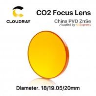 814.77 руб. 11% СКИДКА|Китай ZnSe линза диаметром. 18   20мм FL 50.8 63.5 101.6mm 1.5