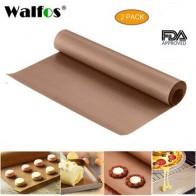 WALFOS 40x30 см многоразовый коврик для выпечки тефлоновый противень жаростойкий Гриль коврик для барбекю антипригарный коврик для торта инстру... - Принадлежности для выпечки