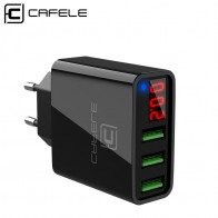 US $12.84 |Cafele USB Charger LED Display 3 Ports Charger USB EU/ US Plug USB Charger 2A Total Max Output DC 5V 3A USB Wall Charger -in Mobile Phone Chargers from Cellphones & Telecommunications on Aliexpress.com | Alibaba Group