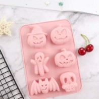 1pc Halloween Silicone Mold - Halloween decorations