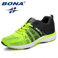 1604.13 руб. 50% СКИДКА|BONA/Новые кроссовки для бега; женские кроссовки для бега; дышащие сетчатые кроссовки со шнуровкой; спортивная обувь для фитнеса; женская обувь-in Беговая обувь from Спорт и развлечения on Aliexpress.com | Alibaba Group