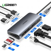 R$ 53.29 26% de desconto|Ugreen USB HUB HUB C para Multi USB 3.0 HDMI Doca Adaptador para MacBook Pro Acessórios USB C Tipo C 3.1 splitter 3 Porta USB HUB C-in Hubs USB from Computador e Escritório on Aliexpress.com | Alibaba Group