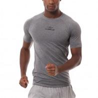 320.83 руб. 34% СКИДКА|Мужская быстросохнущая дышащая футболка для бега с коротким рукавом для фитнеса, спортивные топы для кемпинга, скалолазания, уличные плотно облегающие футболки-in Беговые футболки from Спорт и развлечения on Aliexpress.com | Alibaba Group