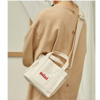 US $7.98 58% OFF|Mini Shopping Bag  White Casual Totes Canvas Totes Beach Bag -in Shopping Bags from Luggage & Bags on Aliexpress.com | Alibaba Group