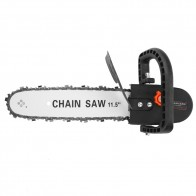 US $15.23 29% OFF|12inch Chainsaw Bracket Changed Angle Grinder Into Chain Saw Woodworking Tools-in Electric Saws from Tools on Aliexpress.com | Alibaba Group