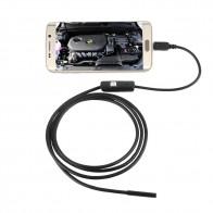 267.45 руб. 18% СКИДКА|Водонепроницаемый 480 P HD 7 мм объектив наблюдательная трубка 1 м эндоскоп мини USB гибкая камера с 6 светодиодами бороскоп для андроида телефона ПК-in Камеры видеонаблюдения from Безопасность и защита on Aliexpress.com | Alibaba Group
