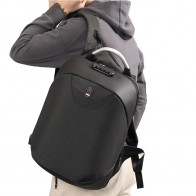 609.44 руб. 44% СКИДКА|Противоугонная паролем рюкзаки USB интеллектуальные ноутбук рюкзак Водонепроницаемый нейлон студент школьные сумки Бизнес путешествия рюкзак купить на AliExpress