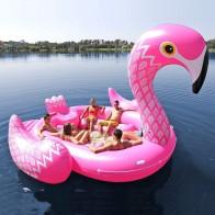15642.71 руб. 40% СКИДКА|Подходит для семи человек 530 см гигантский Фламинго Единорог надувная лодка бассейн вечерние надувные матрас для плавания кольцо игрушки boia-in Плавательные круги from Спорт и развлечения on Aliexpress.com | Alibaba Group