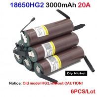 175.54 руб. 33% СКИДКА|Батарея 18650 HG2 3000 мАч электронная сигарета аккумуляторная батарея с высоким уровнем разрядки, 30A высокий ток + DIY никель inr18650 hg2-in Подзаряжаемые батареи from Бытовая электроника on Aliexpress.com | Alibaba Group