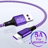 5А USB C SuperCharge кабель USB Type C кабель для Huawei Mate 20 P20 Pro Honor 10 Быстрая зарядка USB Type C USB кабель для Samsung