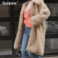3076.42 руб. 40% СКИДКА|Ulzzang длинная куртка из искусственного меха пальто толстые теплые 2018 женские зимние куртки пальто лохматая меховая верхняя одежда женское модное мягкое пальто-in Искусственный мех from Женская одежда on Aliexpress.com | Alibaba Group