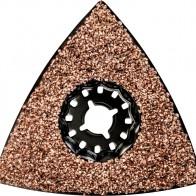 Пластина шлифовальная треугольная (78 мм; HM; зернистость 30; Starlock) Metabo 626963000