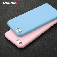 US $1.12 28% OFF|USLION Phone Case For iPhone 7 6 6s 8 X Plus 5 5s SE XR XS Max Simple Solid Color Ultrathin Soft TPU Case Candy Color Back Cover-in Fitted Cases from Cellphones & Telecommunications on Aliexpress.com | Alibaba Group