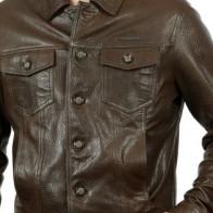 Мужская кожаная куртка Franko Armondi ME-18520-k-899 - Мужские кожаные куртки