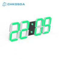 CHkosda светодиодный настенные часы Цифровые часы с секундомером 3D таймер обратного отсчета для дома, офиса, дома декора - Крутые будильники