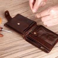 US $11.28 53% OFF|Cobbler Legend Real Cowhide Leather Bifold Clutch Genuine Leather Men