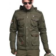 Военный мужской Тактический Тренч дизайнерский 100% хлопок приталенный классический ватный ветровка мужские куртки пальто M ~ 3XL CF5076