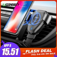 US $15.83 50% OFF|Ugreen Qi Car Wireless Charger for iPhone Xs X 8 10W Fast Wireless Charging for Samsung Galaxy S9 S10 Car Phone Holder Charger-in Wireless Chargers from Cellphones & Telecommunications on Aliexpress.com | Alibaba Group