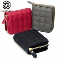 US $3.99 30% OFF|Women Short Wallets PU Leather Female Plaid Purses Nubuck Card Holder Wallet Fashion Woman Small Zipper Wallet With Coin Purse-in Wallets from Luggage & Bags on Aliexpress.com | Alibaba Group