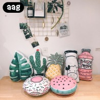 US $9.17 30% OFF|3D Fruit Plant Throw Pillow Pineapple Cactus Pillow Office Car Bed Rest Lumbar Support Cushion Home Decorative Throw Pillow-in Decorative Pillows from Home & Garden on Aliexpress.com | Alibaba Group