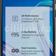 Купить Смартфон ASUS ZenFone Max Pro M1 128Gb,  ZB602KL,  черный в интернет-магазине СИТИЛИНК, цена на Смартфон ASUS ZenFone Max Pro M1 128Gb,  ZB602KL,  черный (1077971) - Москва