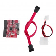 155.82 руб. 28% СКИДКА|Новый 1 шт. высококачественный IDE HDD к SATA, серийный выпуск адаптер ata конвертер on Aliexpress.com | Alibaba Group