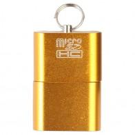 45.37 руб. 13% СКИДКА|Алюминиевый USB 2,0 портативная карта памяти ридер адаптер для Micro SD карты/TF кард ридер адаптер-in Карт-ридеры from Компьютер и офис on Aliexpress.com | Alibaba Group