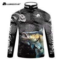 Профессиональная рыболовная одежда, легкая мягкая одежда от солнца, УФ-Джерси, черная футболка с длинным рукавом, штаны, уличные охотничьи с...