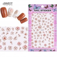 39.55 руб. 40% СКИДКА|1 Sheet Nail Art Plastic Stickers 3d Flowers Cartoon Pattern Slider Adhesive Florals Decals Design Manicure Tools LAF063 349-in Стикеры и наклейки from Красота и здоровье on Aliexpress.com | Alibaba Group