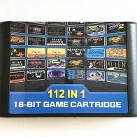112 в 1 игровой картридж 16 бит карточная игра для sega Mega Drive MD для Megadrive для Genesis консоли купить на AliExpress