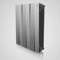 Купить Радиаторы биметалл RT PianoForte 500/100/6 секц Silver Satin(серебристый) в Ульяновске