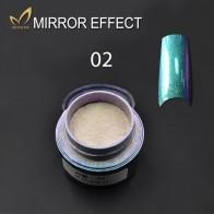 Металлический лак для Ногтей Сияющий зеркальный порошок эффект зеркальных ногтей порошок пигмент порошок для ногтей хром пигмент блестит Professional Nail Art купить на AliExpress
